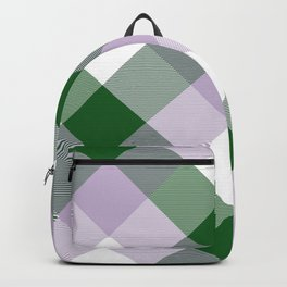 Geometrical Square Abstraction 10 Backpack
