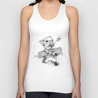 clueless Tank Tops featuring Clueless by SlothStudio