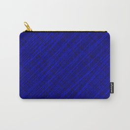 Royal ornament of their blue threads and dark intersecting fibers. Carry-All Pouch