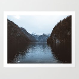Alpine Lakes Art Print