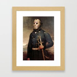 Jason Voorhees Friday The 13th Framed Art Print