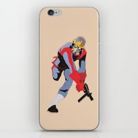 star lord iPhone & iPod Skins featuring Star-Lord by Simon Alenius
