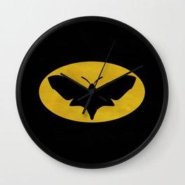 Na na na na na na na MOTHMAN Wall Clock