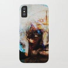 Old Paint Slim Case iPhone X