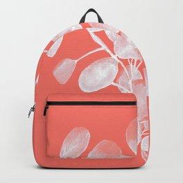 Eucalyptus Silver Dollar Living Coral Backpack