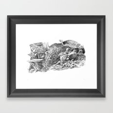 Fungal Framed Art Print