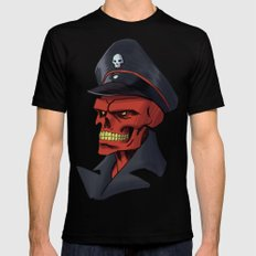 Red or Dead Black MEDIUM Mens Fitted Tee