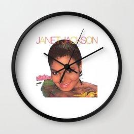 Janet Jackson Wall Clock