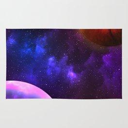 Cosmic Planets Rug
