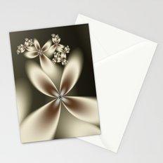 Flower Fractal Stationery Cards