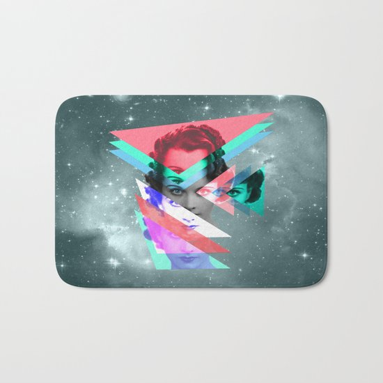 galactic implosion Bath Mat