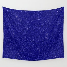 C13D Blue Glitter Wall Tapestry