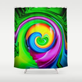 Abstract Perfection 29 Shower Curtain