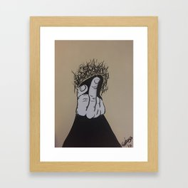 F You It's My Pussy Framed Art Print