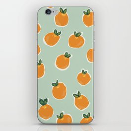 Tiny Clementines iPhone Skin
