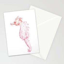 Seahorse II Stationery Cards