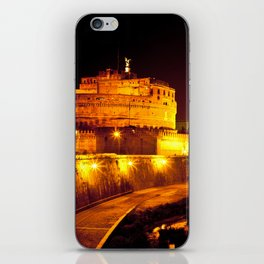 Castel sant'angelo Roma iPhone Skin