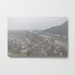Heidelberg Mist Metal Print
