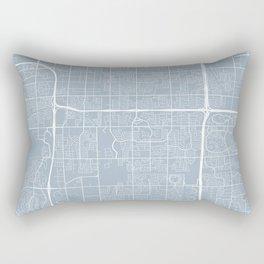 Tempe Map, USA - Slate Rectangular Pillow