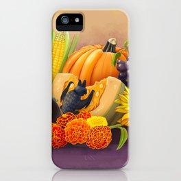 Commisions | Bat autumn harvest iPhone Case