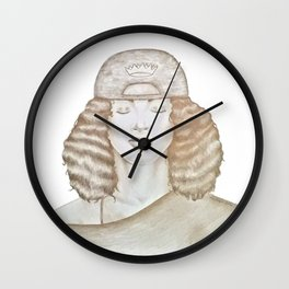 Queen of Thought Wall Clock