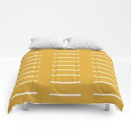 organic / yellow Comforters