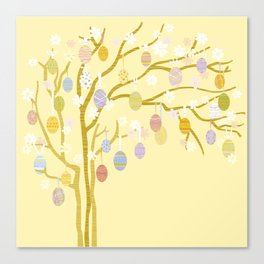 Easter Tree Canvas Print