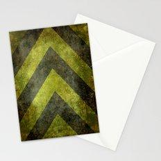 Warning Chevron #101 Stationery Cards