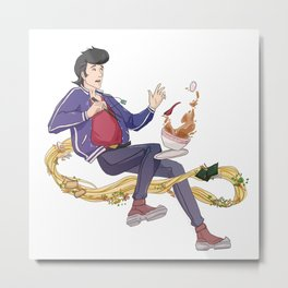 Space Dandy! Metal Print