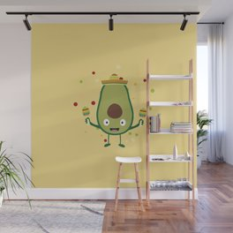 Fiesta Party Mexico Avocado T-Shirt for all Ages Wall Mural
