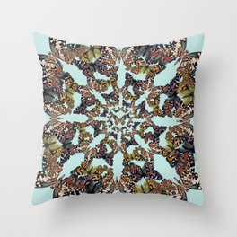 Butterfly Scatter Throw Pillow