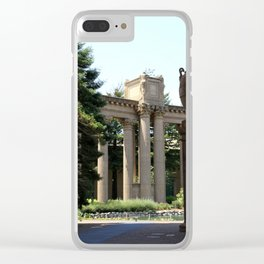 Palace Fine Arts Pillars And Urn Clear iPhone Case