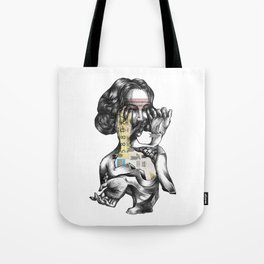 lottery girl Tote Bag