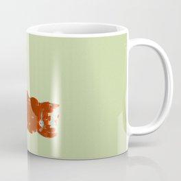 Silkscreen guitar print Coffee Mug