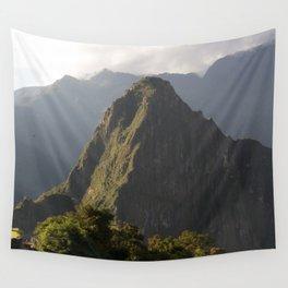 Huayna Picchu Wall Tapestry