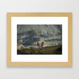 Meet Georgia Framed Art Print