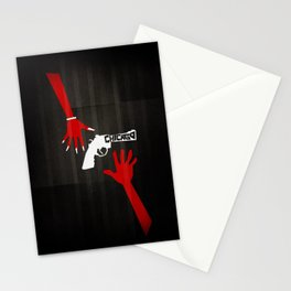 CHICAGO Minimal Musicals Stationery Cards