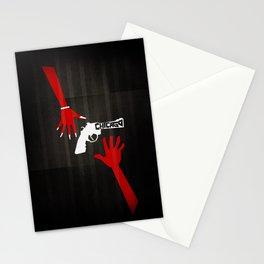 CHICAGO Minimal Musicals Stationery Cards