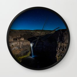 Palouse Falls - Washington Wall Clock