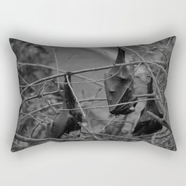Dark Bat Laughs Rectangular Pillow