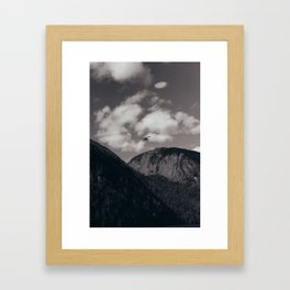 Alaska Mountains Framed Art Print