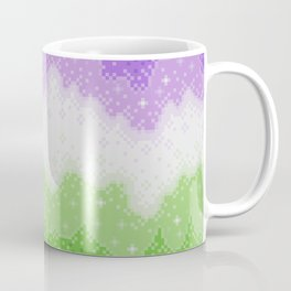 Genderqueer Pride Galaxy Coffee Mug