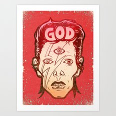 God Art Print