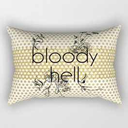 Bloody Dotty Hell Rectangular Pillow