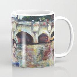 Under Paris skies. Coffee Mug