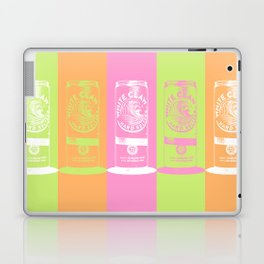 All the Colors of the White Claw - Pop Art Laptop & iPad Skin