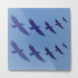 UPLIFT: The Genius of Feathers Metal Print