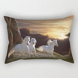 Above the Storm Rectangular Pillow
