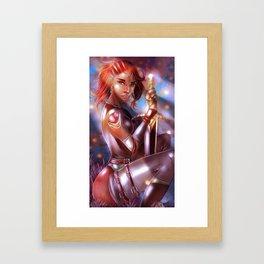 Beautiful Midnight Framed Art Print