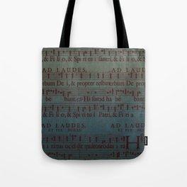 Music Sheet Tote Bag